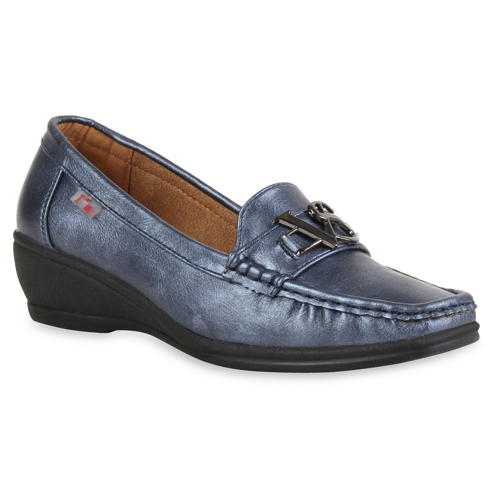 damen slippers in blau 71169 153. Black Bedroom Furniture Sets. Home Design Ideas
