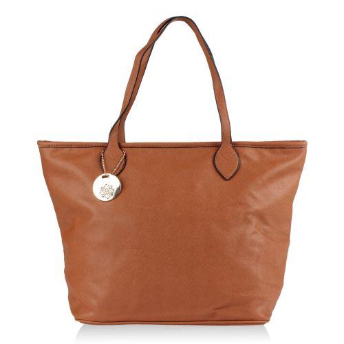 Damen Schulter Tasche - Braun