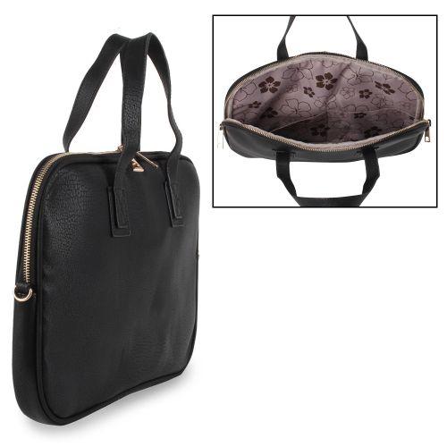 Damen Notebook Tasche - Schwarz