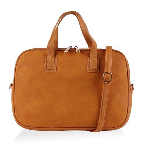Damen Notebook Tasche - Hellbraun