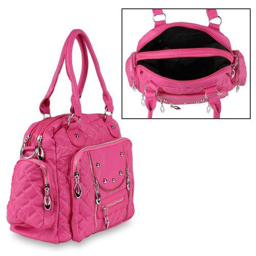 Damen Schulter Tasche - Pink