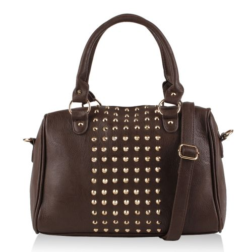 Damen Handtasche - Dunkelbraun