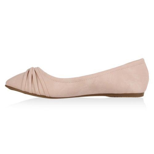 Damen Ballerinas Klassische Ballerinas - Rosa - Plain City