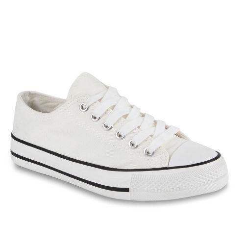 Damen Sneaker low - Weiß Creme