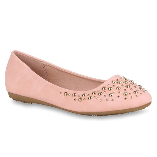 Damen Ballerinas Klassische Ballerinas - Rosa - Nokesville
