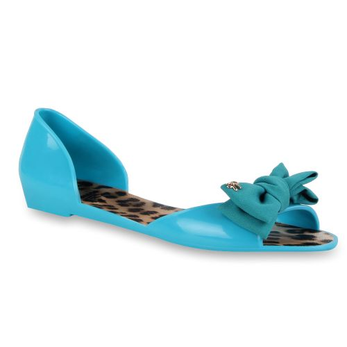Damen Sandalen Badesandalen - Blau