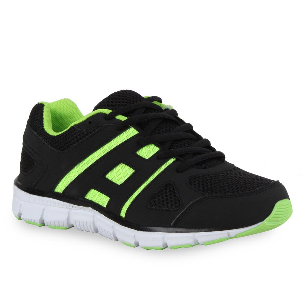 Damen Laufschuhe - Schwarz Grün