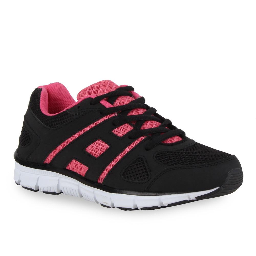 Damen Laufschuhe - Schwarz Pink