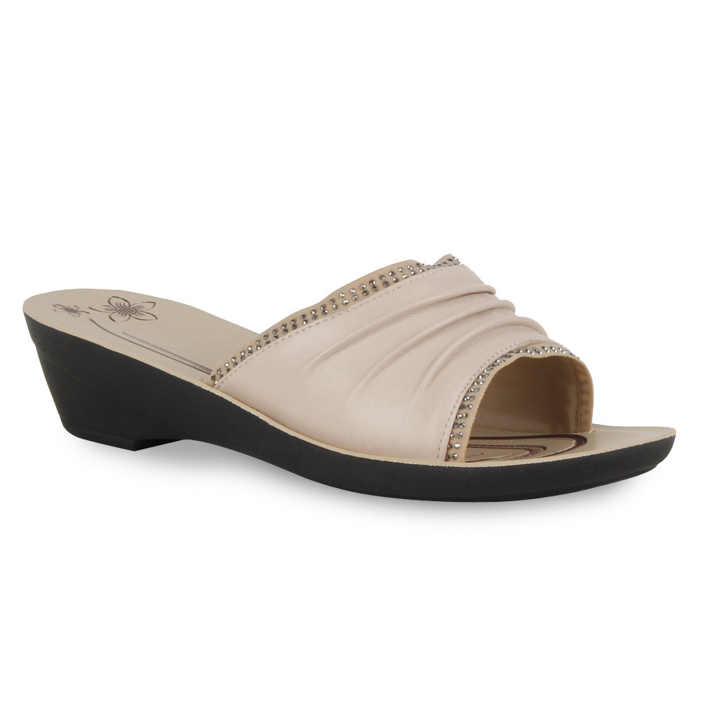 Damen Sandalen Komfort Sandalen - Nude