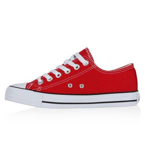 Damen Rot Sneaker Damen Low Sneaker qwrqTfv