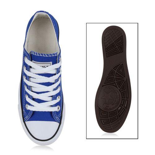 Sneaker Blau Low Low Damen Sneaker Damen v5qznwOg
