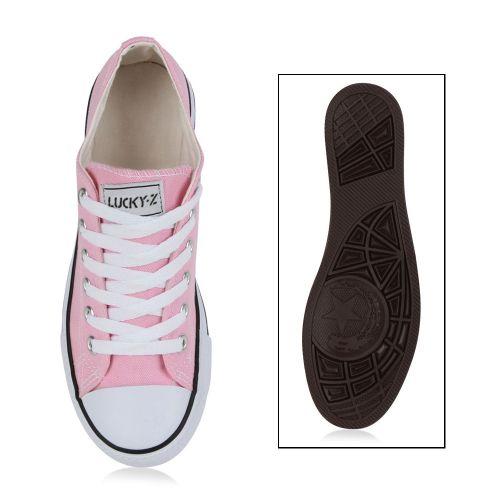 Damen Sneaker Sneaker Rosa Sneaker Low Rosa Low Damen Low Damen Rosa Damen Low Sneaker rICOqCd