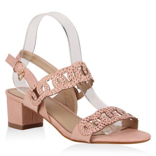 Damen Sandaletten Klassische Sandaletten - Rosa - Almada