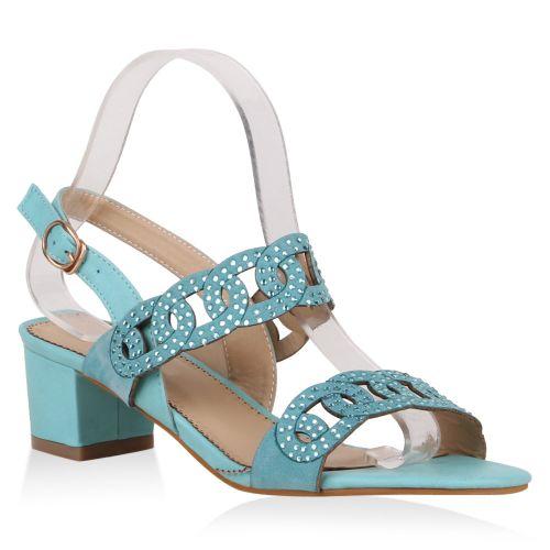 Damen Sandaletten Klassische Sandaletten - Türkis