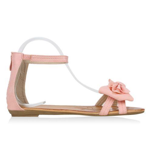 Damen Sandalen Riemchen Sandalen - Rosa - El Dorado