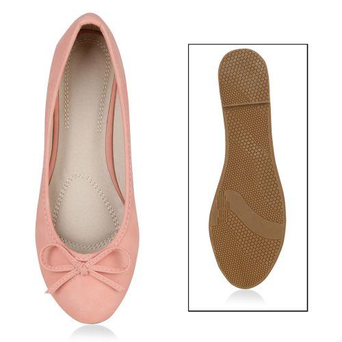 Damen Ballerinas Klassische Ballerinas - Rosa - Carcheles