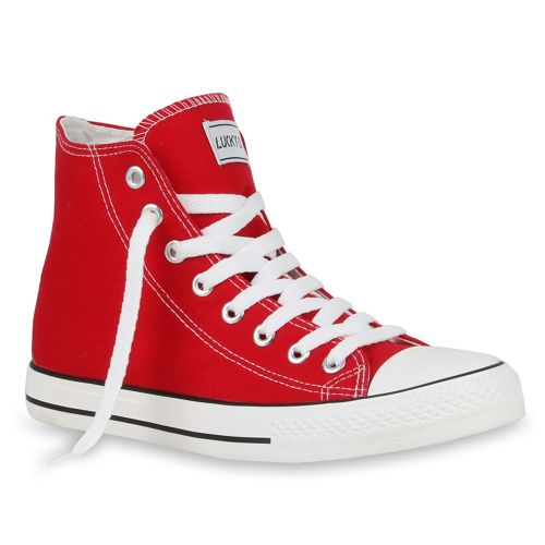 Herren Sneaker high - Rot