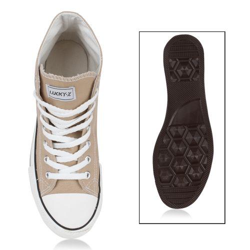Herren Sneaker high - Khaki
