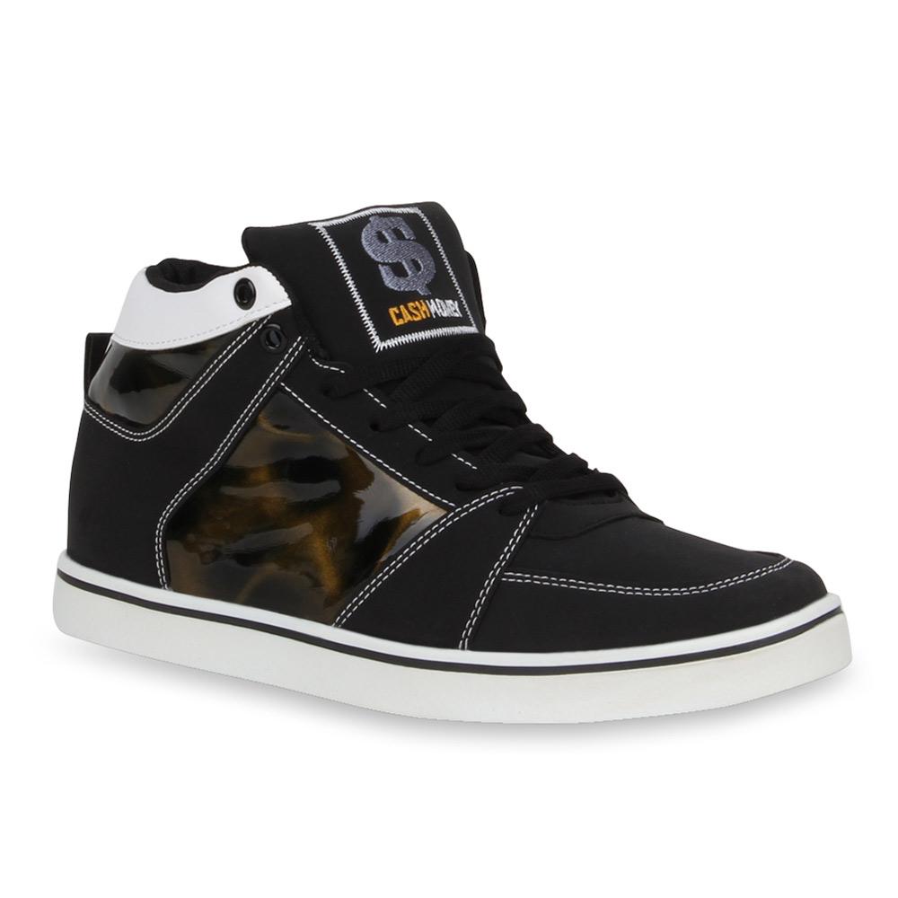 961ff54e464 Herren Sneaker high - Schwarz Gold auf Rechnung kaufen in Österreich