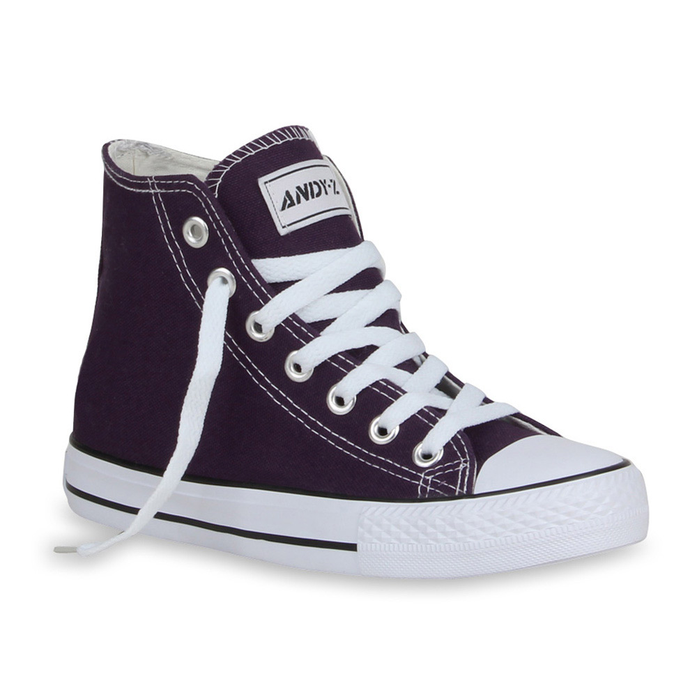 Damen Sneaker high - Lila