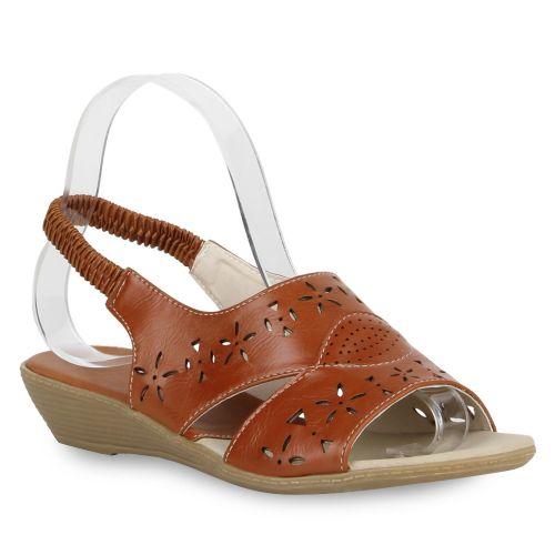 Damen Sandalen Komfort Sandalen - Braun