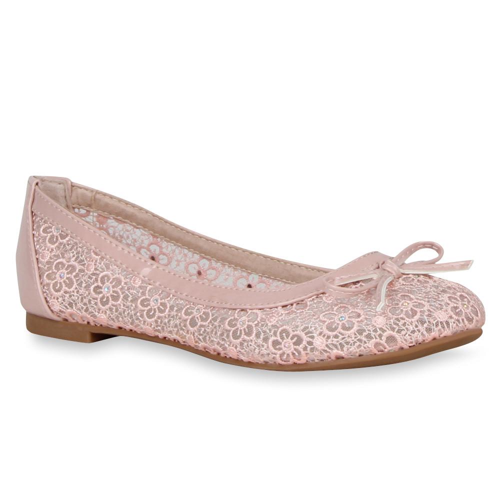 Damen Ballerinas Klassische Ballerinas - Rosa - Mastic