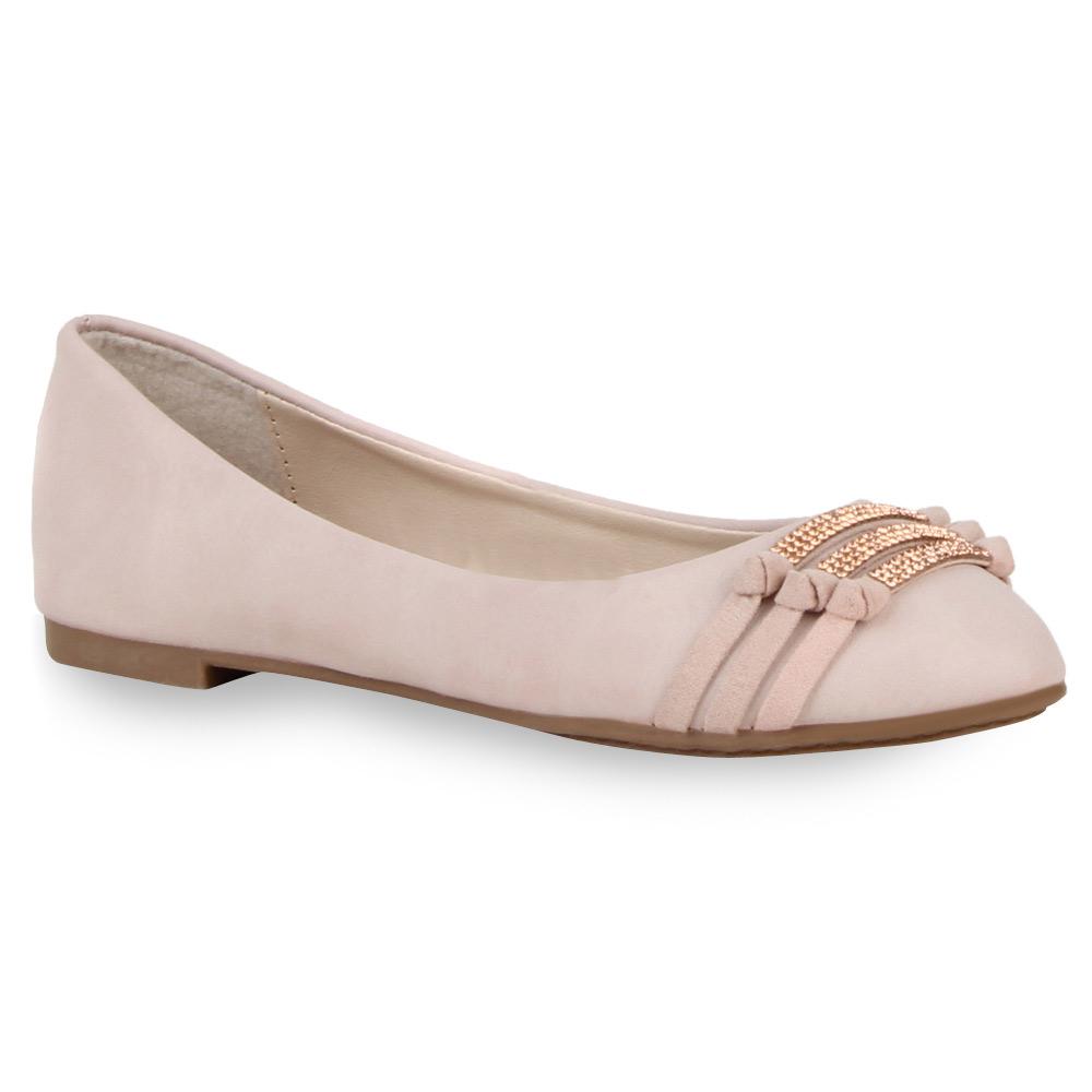 Damen Ballerinas Klassische Ballerinas - Rosa - Hayward