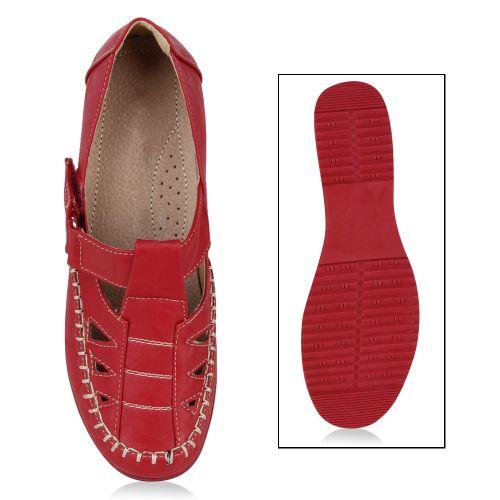 Damen Hausschuhe Klassische Hausschuhe - Rot
