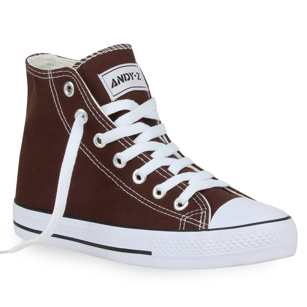 Damen Sneaker high - Dunkelbraun