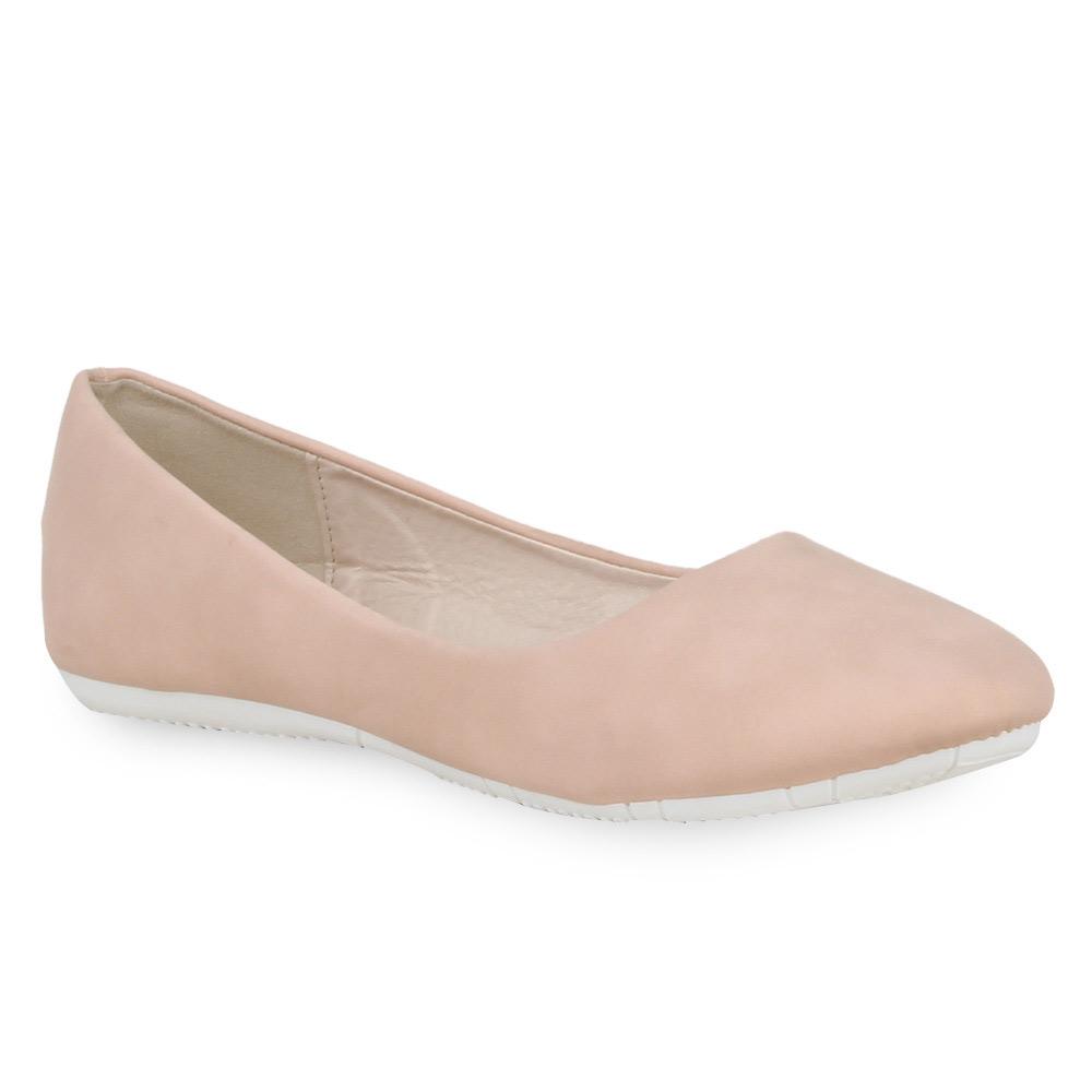 Damen Ballerinas Klassische Ballerinas - Rosa - Alabaster
