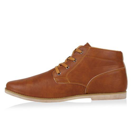 Herren Boots Desert Boots - Hellbraun