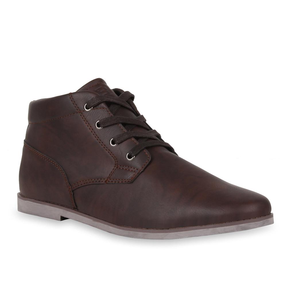 Herren Boots Desert Boots - Coffee