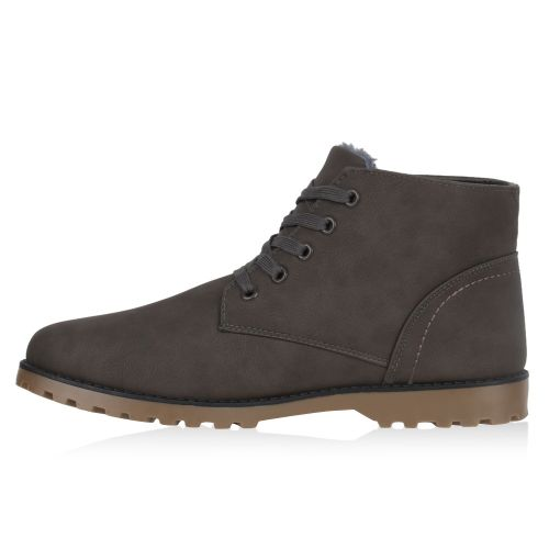 Herren Boots Worker Boots - Grau