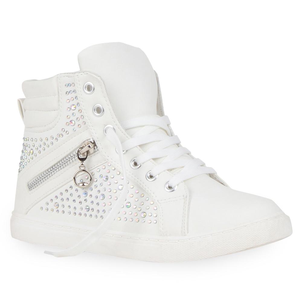 ae5697dc09cfa6 Damen Sneaker in Weiß (891217-686) - stiefelparadies.de