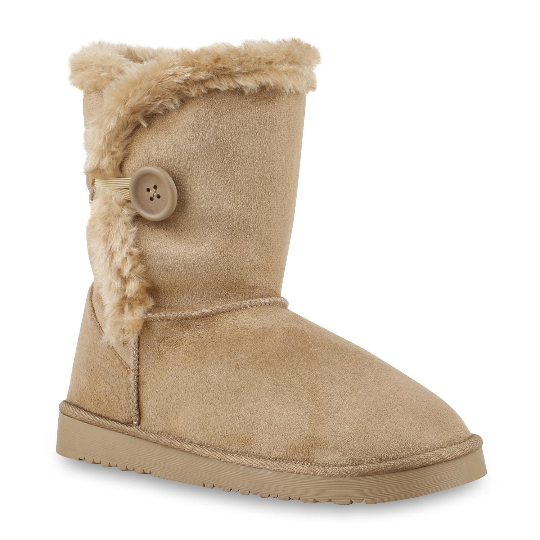 Damen Stiefel Schlupf Stiefel - Khaki - Crandon