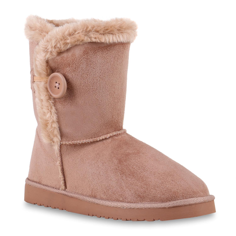 Damen Stiefel Schlupf Stiefel - Rosa - Guadalupe