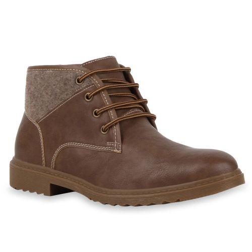 Herren Boots Worker Boots - Khaki