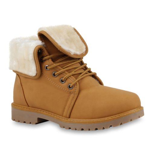 Damen Stiefeletten Outdoor Boots - Hellbraun