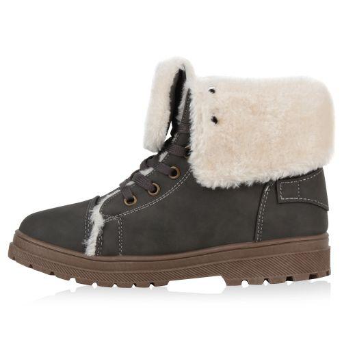 Damen Stiefeletten Outdoor Boots - Grau
