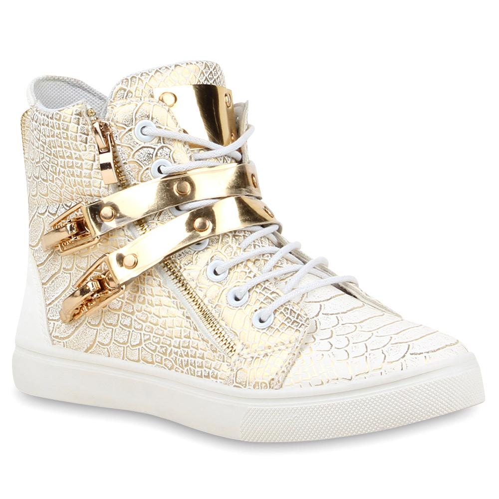 sneaker damen gold