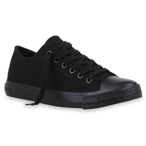Herren Sneaker low - Schwarz Basic
