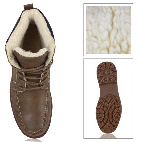 Herren Boots Outdoor Boots - Khaki