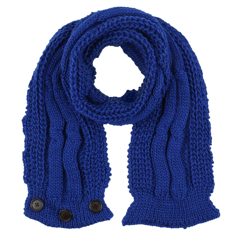 Damen Strickschal - Blau