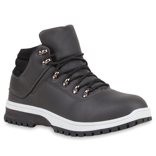 Herren Boots Outdoor Boots - Grau