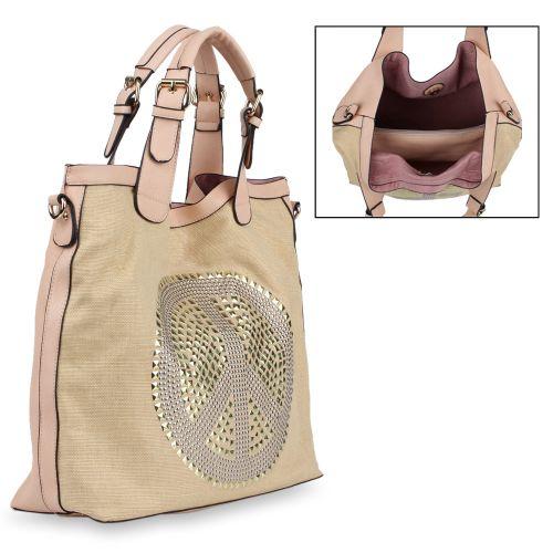 Damen Handtasche - Apricot