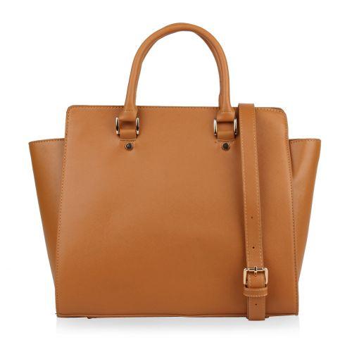 Damen Handtasche - Hellbraun