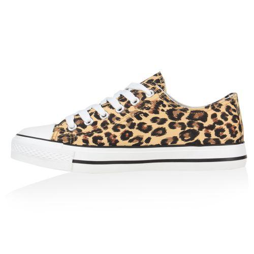 Damen Sneaker low - Leopard