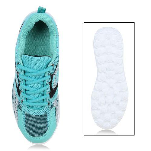 Damen Sportschuhe Laufschuhe - Grün