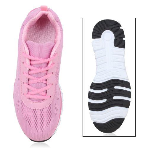 Damen Sportschuhe Laufschuhe - Rosa - Ledbetter