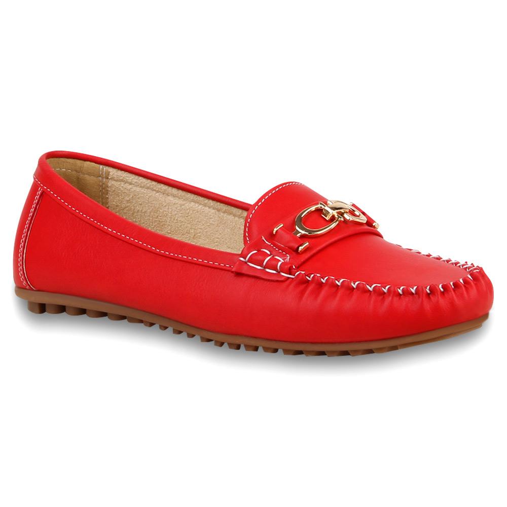 Damen Klassische Slippers - Rot
